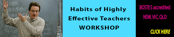 Habits of Highly Effective Teachers workshop