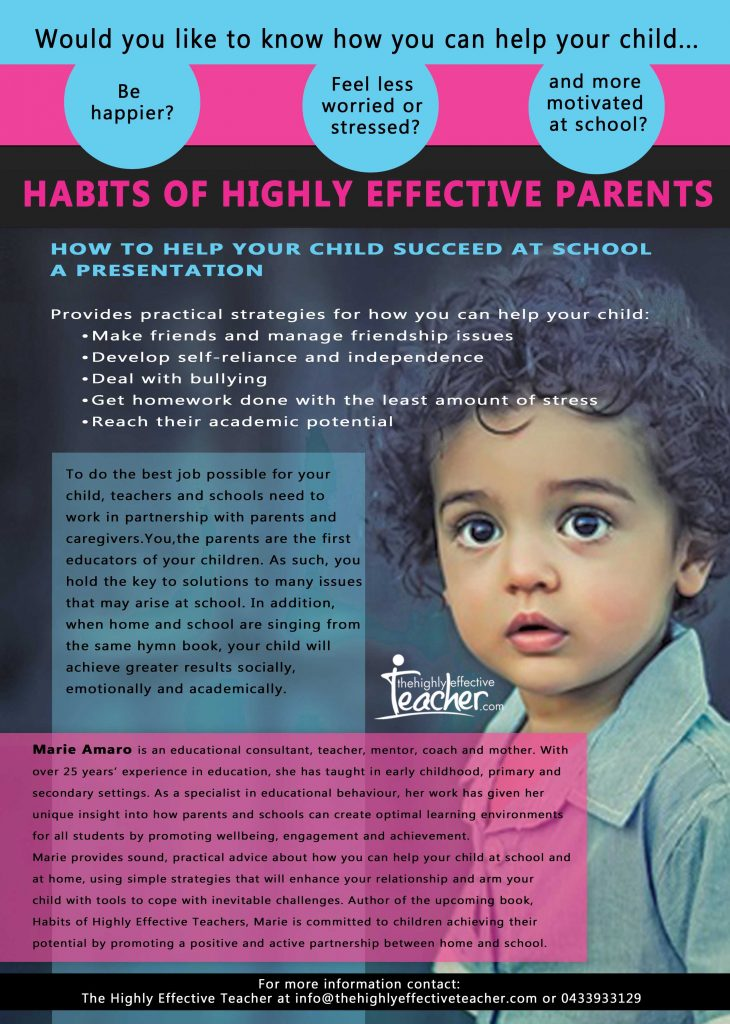 Contact tanya@thehighlyeffectiveteacher.com for more information