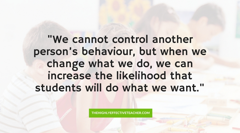 How To Get Students To Do What You Want quote
