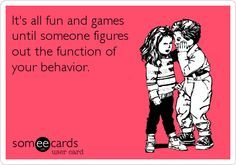function of behaviour cartoon