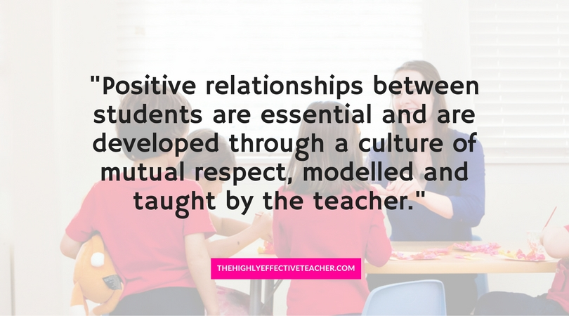why positive relationships are important essay The importance of positive teacher-student relationships in classrooms  developing positive relationships between teachers and students has a  or why you love.