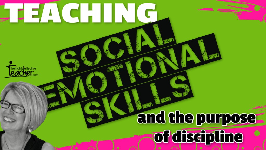 Discipline and Social Emotional Learning