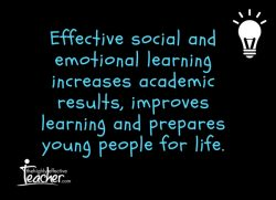 Effective social and emotional learning increases academic results, improves learning and prepares young people for life.