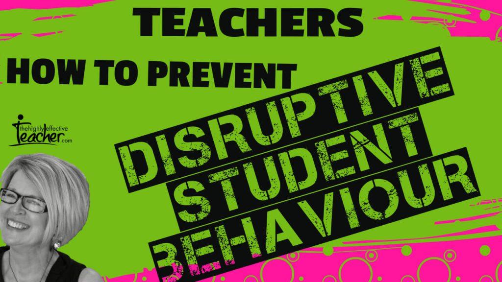 Teaching Strategies: student behaviour