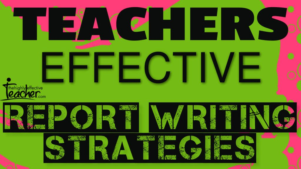 Manage Teacher Burnout With These Report Writing tips